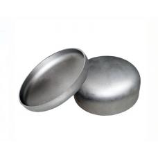 Заглушка нержавеющая эллиптическая 104х2,0 мм AISI 304, матовый, DIN