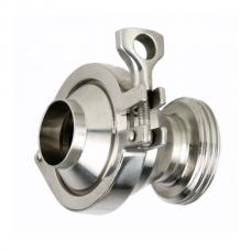 Обратный клапан P-C Type CLAMP DN100(104 mm), AISI 304