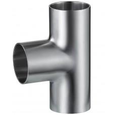 Тройник нержавеющий приварной длинный С-С-С Dn15 (18х1.5 мм) AISI 304, DIN 11852