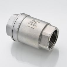 "Обратный клапан нерж. ВР-ВР 1 1/2"" DN40 (48,3мм), ISO, AISI 304"