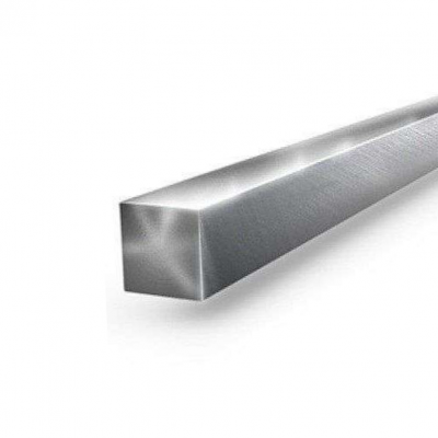 Квадрат нержавеющий 25 х4100 мм AISI 304 (08Х18Н10) калибр., h11