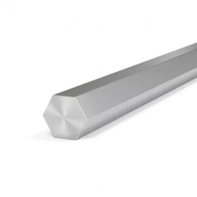 Шестигранник нержавеющий 10х3000 мм AISI 321 (12Х18Н10Т) калибр., h11