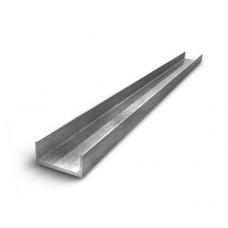 Швеллер нержавеющий 100х50х3,0х3,0х6000 мм AISI 304 (08Х18Н10) гнутый, 1D