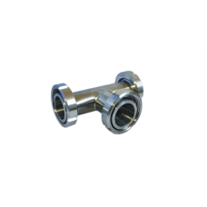 Тройник нержавеющий Г-Г-Г Dn100 (104х2.0 мм) AISI 304, DIN 11852