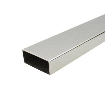 Труба нержавеющая прямоугольная 50х25х1.5 мм AISI 304 (08Х18Н10) зеркальная EN 10219-2