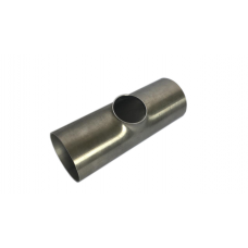 Тройник нержавеющий переходный приварной С-С-С Dn15/10 (18/12х1.5 мм) AISI 304, DIN 11852