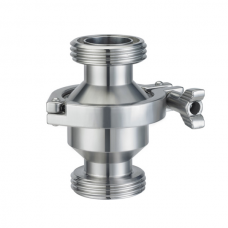 Обратный клапан Р-Р Type CLAMP DN25(28 mm), AISI 304