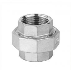 """Муфта Американка вр/вр 1 1/2"""" DN40 (48,3 мм) AISI 304, ISO"""