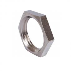 "Трубная контр-гайка 1/4"" DN8 (13,7 мм) AISI 304, ISO"