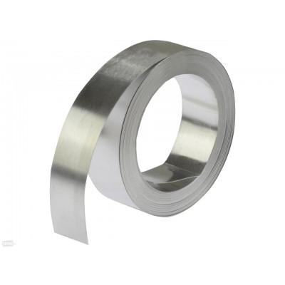 Лента нержавеющая 0,3х1000 мм AISI 316L (03Х17Н14М3) х/к, 2B