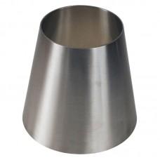 Переход нержавеющий AISI 304 приварной концентрический  Dn50/25 (53/29х1,5 мм), DIN 11852