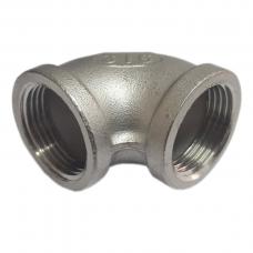 "Отвод резьбовой вр/вр DN8 13,5 мм (1/4"" ISO) AISI 316"