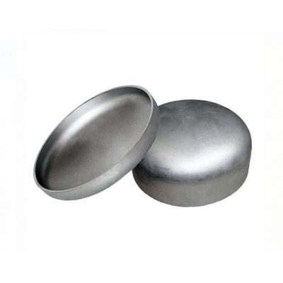 Заглушка нержавеющая эллиптическая 129х2,0 мм AISI 304, матовый, DIN