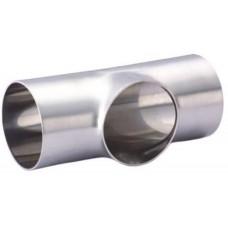Тройник нержавеющий приварной короткий С-С-С Dn15 (18х1.5 мм) AISI 304, DIN 11852